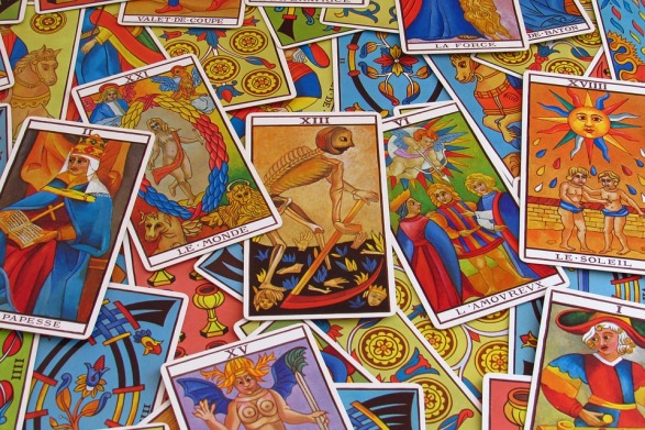 Tarot cards. Psychic Junkie.
